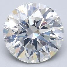 Pierre recommandée n°1: Diamant taille ronde 3,63 carat