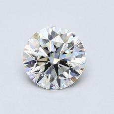 0.75 Carat 圓形 Diamond 理想 H VVS2