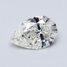 Recommended Stone #4: 0.75-Carat Pear Cut Diamond