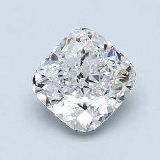 Pierre recommandée n°2: Diamant Taille coussin de 1,20carat