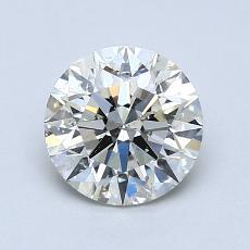 1.09-Carat Round Diamond Ideal K SI2