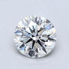 1.03 Carat 圆形 Diamond 理想 I VVS1
