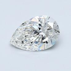 Recommended Stone #1: 0.81-Carat Pear Cut Diamond