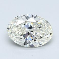 1.20-Carat Oval Diamond Very Good I VVS2