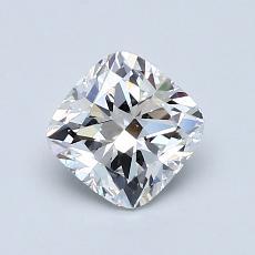1.00-Carat Cushion Diamond Very Good F VS1