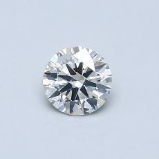 推荐宝石 1:0.39 克拉圆形切割