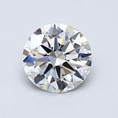Recommended Stone #2: 0,90-Carat Round Cut Diamond