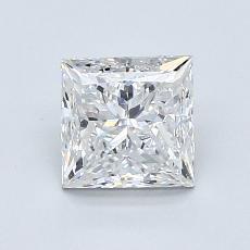 1.01 Carat Princesa Diamond Muy buena F VS1