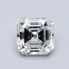 1.70 Carat 上丁方形 Diamond 非常好 F VVS2