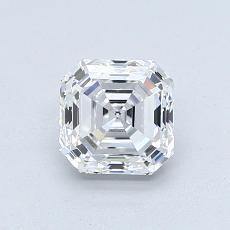 推荐宝石 2:1.00 克拉阿斯彻形钻石