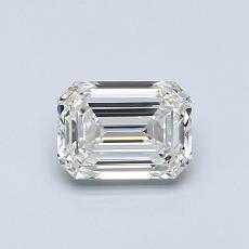 推薦鑽石 #1: 0.70  克拉綠寶石形切割鑽石
