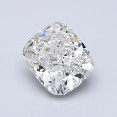 1.00 Carat 墊形 Diamond 非常好 F VVS2