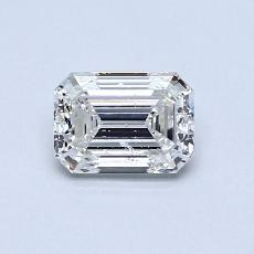Recommended Stone #4: 0.76-Carat Emerald Cut Diamond
