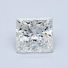 Recommended Stone #4: 1,01-Carat Princess Cut Diamond