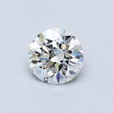 0.60 Carat Redondo Diamond Ideal D VS2