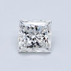 0.80-Carat Princess Diamond Very Good E VS2