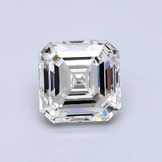 Recommended Stone #1: 1.02-Carat Asscher Cut Diamond
