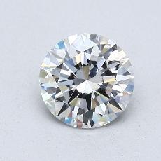 0.76 Carat 圓形 Diamond 理想 F VS2