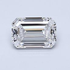 1.00 Carat 绿宝石 Diamond 非常好 F VVS2