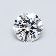 推荐宝石 4:0.55克拉圆形切割钻石