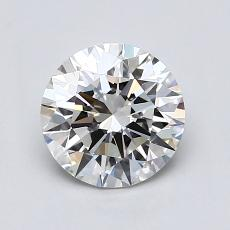 1.00 Carat Redondo Diamond Ideal G VS1