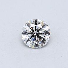 0.30-Carat Round Diamond Very Good G SI1