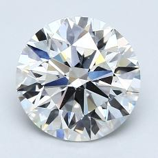 Recommended Stone #2: 2.24-Carat Round Cut Diamond