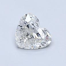 0,70 Carat Corazõn Diamond Muy buena H SI2