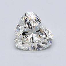 1.00 Carat 心形 Diamond 非常好 I VS1