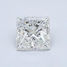 Recommended Stone #4: 1,00-Carat Princess Cut Diamond