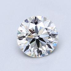 1,00 Carat Rond Diamond Idéale G VS2