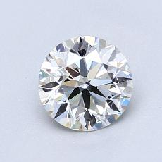 1,00-Carat Round Diamond Ideal G VS2