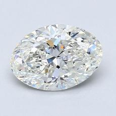 1.22-Carat Oval Diamond Very Good I VS1