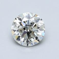 1.00 Carat 圓形 Diamond 良好 K SI2