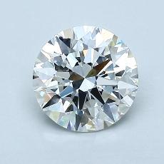 1.20-Carat Round Diamond Ideal G VVS1