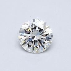0.41 Carat 圆形 Diamond 理想 F IF
