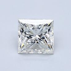 1.00-Carat Princess Diamond Very Good J VVS1