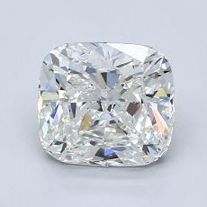 1.70-Carat Cushion Diamond Very Good H VVS2