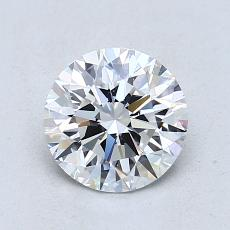 1.21-Carat Round Diamond Ideal F VS1