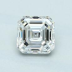 Piedra recomendada 4: Diamante de talla Asscher de 1.01 quilates
