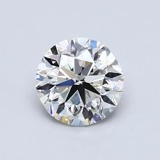 0.90-Carat Round Diamond Very Good H VS2