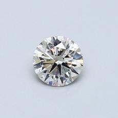 Recommended Stone #3: 0,40-Carat Round Cut Diamond
