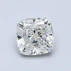 1.02 Carat クッション Diamond ベリーグッド G VVS2