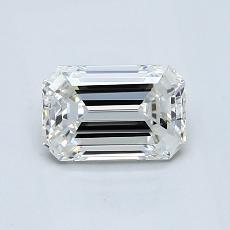 推荐宝石 1:1.03 克拉祖母绿切割钻石