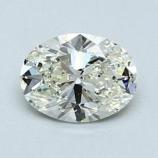 1.03 Carat 椭圆形 Diamond 非常好 K VS2