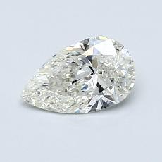 Recommended Stone #1: 0.66-Carat Pear Cut Diamond