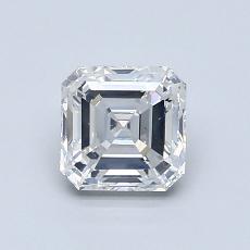 1.00 Carat 上丁方形 Diamond 非常好 F SI1