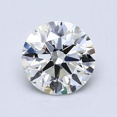 0.81-Carat Round Diamond Ideal E VS1