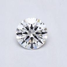 Recommended Stone #4: 0,44-Carat Round Cut Diamond