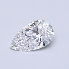 Recommended Stone #1: 0.46-Carat Pear Cut Diamond